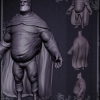 'The Lard Knight' – Digital Sculpture