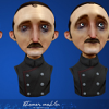 Stylized character 'Basil Moskovic'