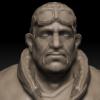 'Berny Ochsenschwanz Sr.' – Digital Sculpture
